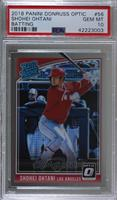 Rated Rookies - Shohei Ohtani (Batting) [PSA 10 GEM MT]