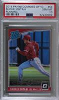 Rated Rookies Variations - Shohei Ohtani (Running) [PSA 10 GEM M…