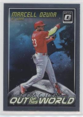 2018 Panini Donruss Optic - Out of this World #OW11 - Marcell Ozuna