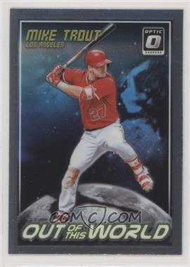2018 Panini Donruss Optic - Out of this World #OW3 - Mike Trout