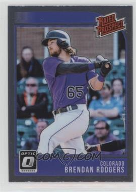 2018 Panini Donruss Optic - Rated Prospects #RP6 - Brendan Rodgers