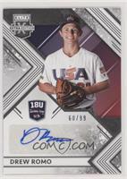 Drew Romo #60/99