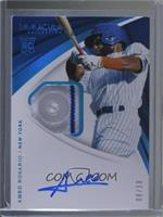 Rookie Patch Auto - Amed Rosario #/10