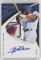 Rookie Patch Auto - Amed Rosario #/99