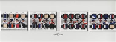 2018 Panini National Treasures - 16 Player Dual Materials Booklets #16DM-1 - Alex Verdugo, Amed Rosario, Austin Hays, Clint Frazier, Francisco Mejia, J.P. Crawford, Miguel Andujar, Nick Williams, Ozzie Albies, Rafael Devers, Rhys Hoskins, Ryan McMahon, Shohei Ohtani, Victor Robles, Walker Buehler, Willie Calhoun /25
