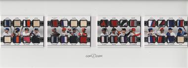 2018 Panini National Treasures - 16 Player Dual Materials Booklets #16DM-1 - Alex Verdugo, Amed Rosario, Austin Hays, Clint Frazier, Francisco Mejia, J.P. Crawford, Miguel Andujar, Nick Williams, Ozzie Albies, Rafael Devers, Rhys Hoskins, Ryan McMahon, Shohei Ohtani, Victor Robles, Walker Buehler, Willie Calhoun /25 [EX to NM]