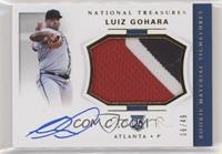 Rookie Materials Signatures - Luiz Gohara #/49