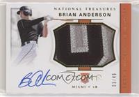 Rookie Materials Signatures - Brian Anderson /49