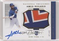 Rookie Materials Signatures - Amed Rosario #/49