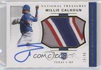 Rookie Materials Signatures - Willie Calhoun /49