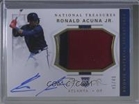 Rookie Materials Signatures - Ronald Acuna Jr. /49