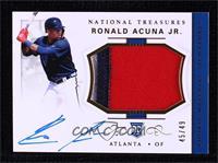 Rookie Materials Signatures - Ronald Acuna Jr. #45/49