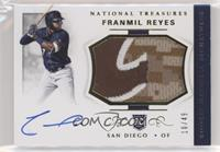 Rookie Materials Signatures - Franmil Reyes /49