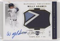 Rookie Materials Signatures - Willy Adames /49