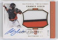 Rookie Materials Signatures - Chance Sisco #/49