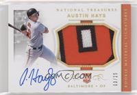 Rookie Materials Signatures - Austin Hays #/25
