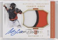 Rookie Materials Signatures - Chance Sisco #/25