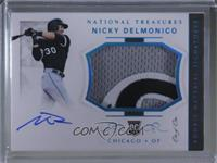 Rookie Materials Signatures - Nicky Delmonico [Noted] #/1