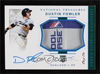 Rookie Materials Signatures Tag - Dustin Fowler #/1