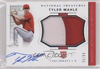 Rookie Materials Signatures - Tyler Mahle /99