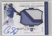 Rookie Materials Signatures - Cameron Gallagher /99