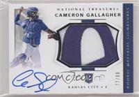 Rookie Materials Signatures - Cameron Gallagher /99
