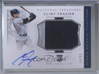 Rookie Materials Signatures - Clint Frazier #/99