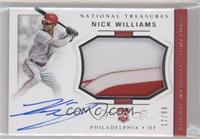 Rookie Materials Signatures - Nick Williams #/99