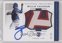 Rookie Materials Signatures - Willie Calhoun /99 [EXtoNM]