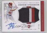 Rookie Materials Signatures - Andrew Stevenson /99