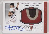 Rookie Materials Signatures - Jimmie Sherfy /99