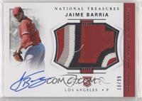 Rookie Materials Signatures - Jaime Barria #/99