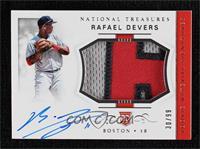 Rookie Materials Signatures - Rafael Devers #/99