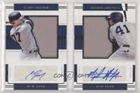 Clint Frazier, Miguel Andujar [NoneNoted] #/99
