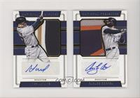 Carlos Correa, Jose Altuve [Noted] #/10