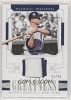 Mickey Mantle #/25