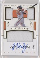 Austin Hays #/49