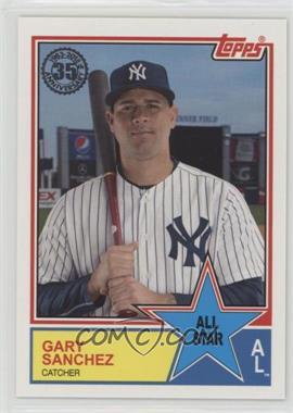 2018 Topps - 1983 Topps Design All-Stars #83AS-23 - Gary Sanchez