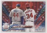 Anthony Rizzo, Bryce Harper #/76