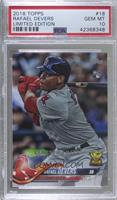 Rafael Devers /2018 [PSA 10 GEM MT]