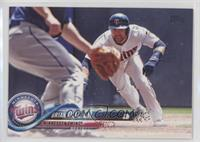 Brian Dozier (About to Slide)