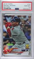 Rafael Devers (Batting) [PSA 10 GEM MT]