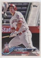 Mike Trout (White Jersey) [EX to NM]