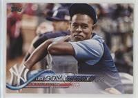 SP Variation - Luis Severino (Leaning on Railing)