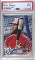 SP Variation - Bryce Harper (In Batting Cage) [PSA 9 MINT]