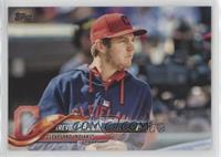 SP Variation - Trevor Bauer (Red Cap, Blue Hoodie)