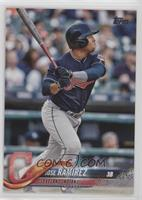 Base - Jose Ramirez (Batting)