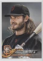 SP Variation - Brandon Crawford (Bat on Shoulder)