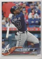 Late Rookie Variation - Ronald Acuna Jr. (Bat Behind Back)