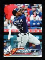 Late Rookie Variation - Ronald Acuna Jr. (Bat Down SP)